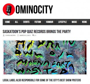 Omniocity Pop Quiz Interview – March 6, 2013