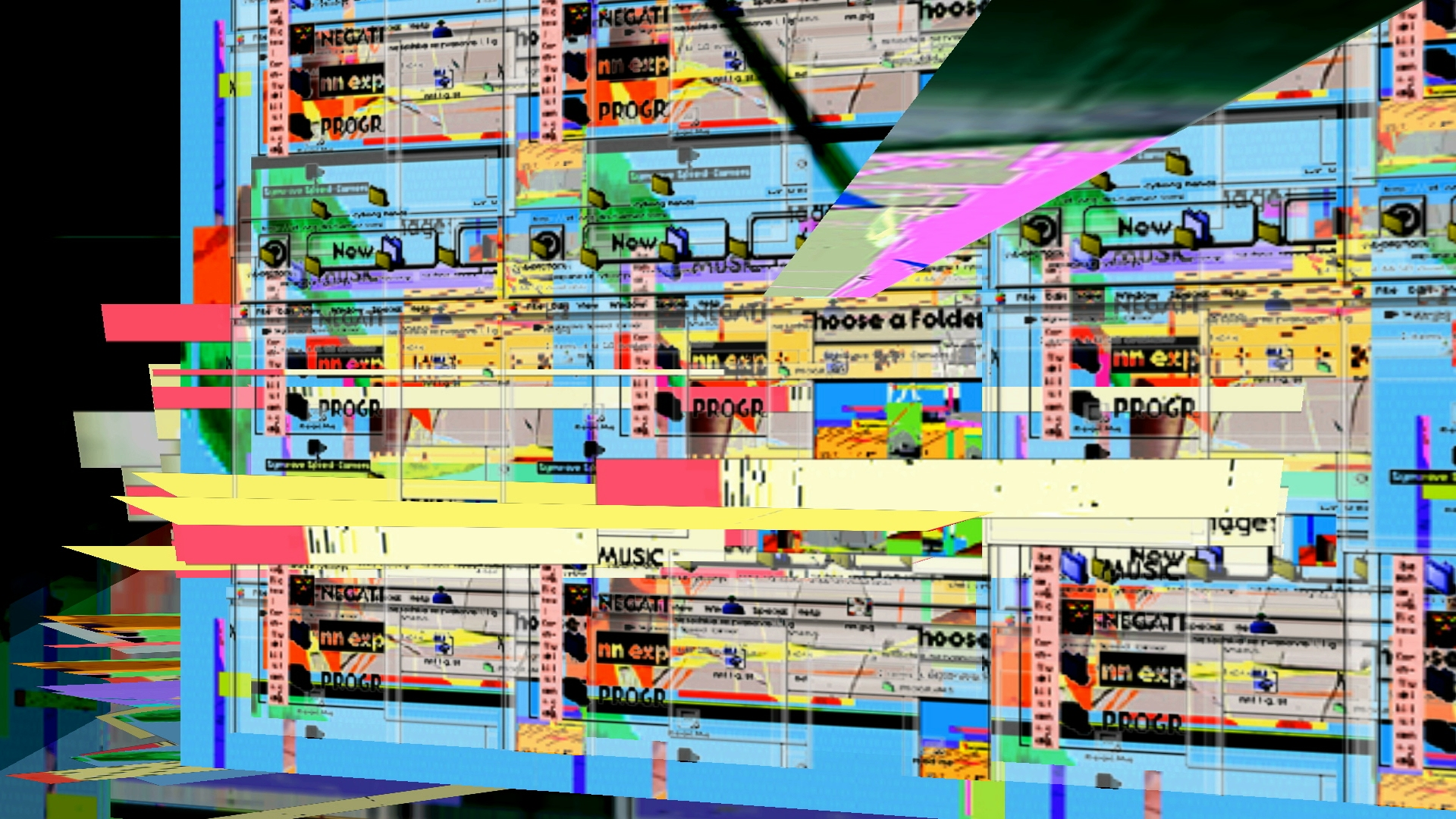 Glitch Symposium Demo Video Still by Carrie Gates and Jon Vaughn